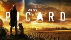 Star Trek: Picard logo and image